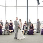 Kenosha Public Museum - Bridal Party on Mezzanine